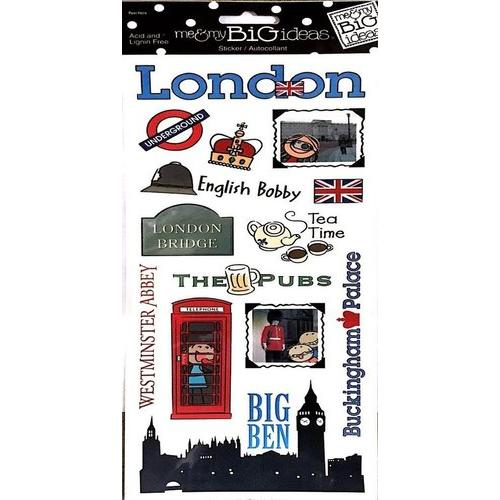 Me And My Big Ideas Stickers London Packaged