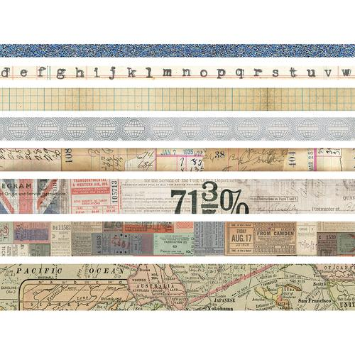 Advantus - Tim Holtz - Idea-ology Collection - Design Tape - Journey