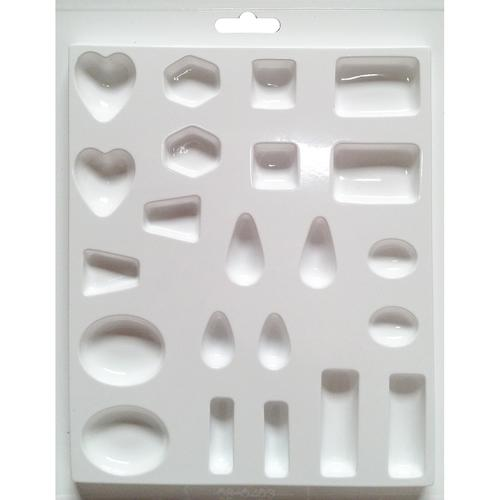 Plaster Casting Mold 8 X 9.50 Inches Jewels 22 Cavity