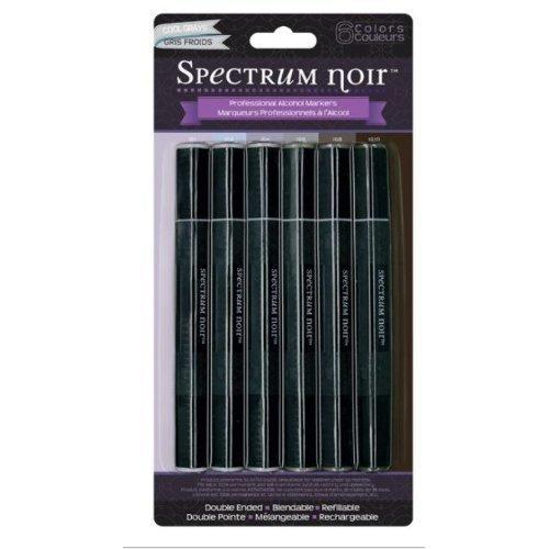 Spectrum Noir Alcohol Markers Cool Grays