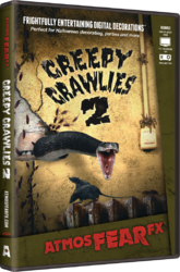AtmosFEARfx Creepy Crawlies 2 Halloween Digital Decorations