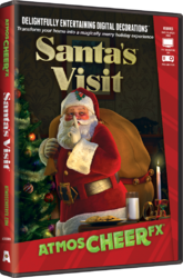 AtmosCHEERfx Santa Visit Holiday Digital Decorations