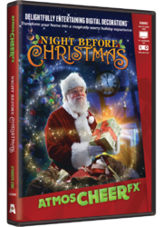 AtmosCHEERfx Night Before Christmas Digital Decoration