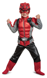 Red Ranger Beast Morpher Toddler Muscle CostumeSmall 2T