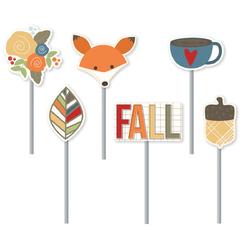 Hello Fall Decorative Clips 6 Pkg