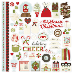 Collection Classic Christmas Sticker Fundamentals