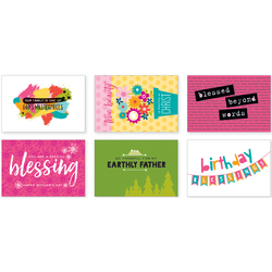 Illustrated Faith Postcards Family Blessings By Mail