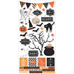Happy Haunting 6 X 12 Sticker Sheet