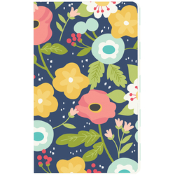 Faith Collection Doc It Journal Navy Floral