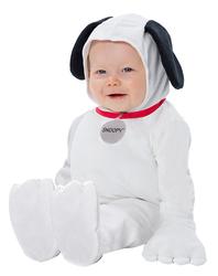 Baby Peanuts Snoopy Newborn Costume White (0-9) Months
