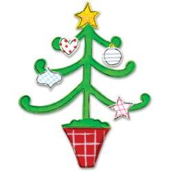 Sizzix Originals Die Christmas Tree With Decorations