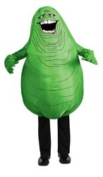 Mens Ghostbusters Adult Inflatable Slimer Set Green Standard