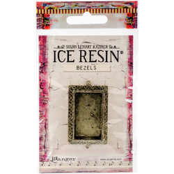 Ranger Ice Resin Milan Bezels Closed Back Rectangle Medium