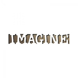 Sizzix Tim Holtz Alterations Movers And Shapers Magnetic Die: Imagine