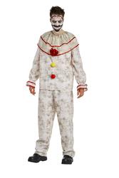 Men'S American Horror Story Freak Show Twisty The Clown Costume Small