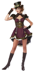 California Costumes Women's Steampunk Adult Burgundy/Brown X-Large