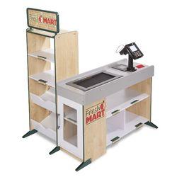 Category: Dropship Arts & Crafts, SKU #FC01093408, Title: Melissa & Doug Freestanding Wooden Fresh Mart Grocery Store