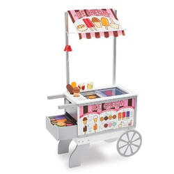 Category: Dropship Arts & Crafts, SKU #FC01093507, Title: Melissa & Doug Wooden Snacks & Sweets Food Cart
