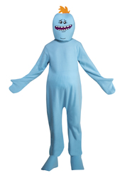 Adult Rick And Morty Mr. Meeseeks Costume X-Large