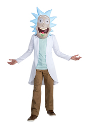 Adult Rick And Morty Rick Costume Large 12-14