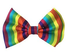 Halloween Wholesalers Bowtie (Rainbow)