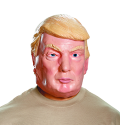 Men'S Donald Trump Deluxe Mask Multi Color One Size