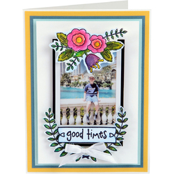 Sizzix Clear Acrylic Stamps  Memories