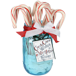 Sizzix Christmas Collection Framelits Die With Clear Acrylic Stamp Set Candy Cane Wishes