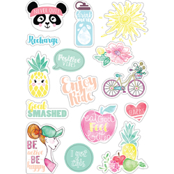Sizzix Cardstock Stickers Planner Page Icons