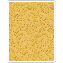 Sizzix Tim Holtz Alterations Collection Texture Fades Embossing Folder Flourish