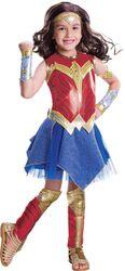 Kid'S Deluxe Wonder Woman Costume Female Meduim