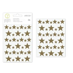 Studio Calico Seven Paper Felix Collection Foiled Chipboard Stickers