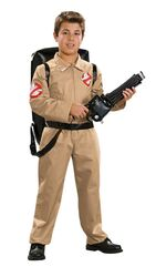 Classic Deluxe Kids Ghostbusters Costume Male Large