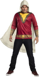 Men'S Adult Shazam Movie Costume Top Extra Large