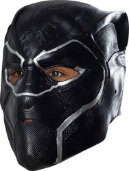 Boys Black Panther 3/4 Mask Costume As Shown One Size