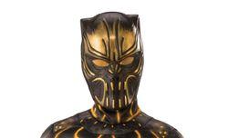 Boys Erik Kill Monger Half-Mask Costume As Shown One Size