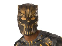 Men'S Erik Killmonger 1/2 Adult Mask Multi Color One Size