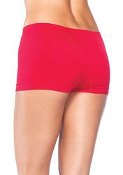 Leg Avenue Womens Seamless Boyshort Red One Size