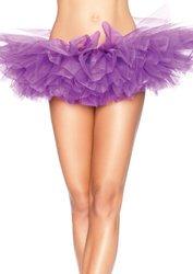 Leg Avenue Organza Tutu Purple One Size