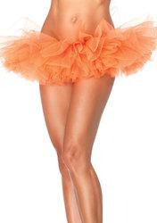 Leg Avenue Organza Tutu Orange One Size