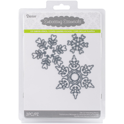Embossing Essentials Dies Snowflakes