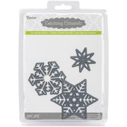 Embossing Essentials Dies Snowflakes