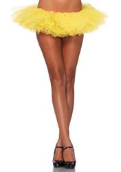 Leg Avenue Organza Tutu Yellow One Size