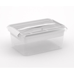 Latchmate Storage Box with Tray 16X11X7 inches