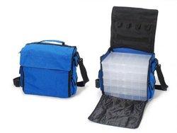 Jewelry Organizer Nylon Bag with Plastic Organizers