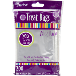 Treat Bags 3 X 4.75 Inches Clear