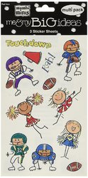 Me And My Big Ideas 4.5 X 6 Inches Minis Stickers Football And Cheer