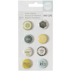 High Five Collection Plastic Buttons