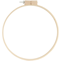 Wood Quilting Hoops 14 Inches 0.75 Inches Depth