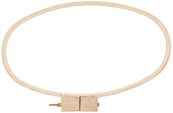 Wood Quilting Hoop 8 X 15 Inches 0.75 Inches Depth